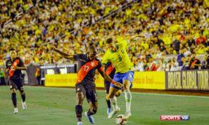 Brazil defeated Peru