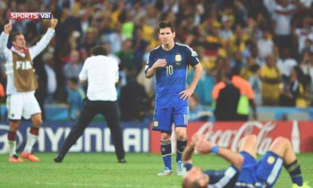 Everyone cry at Messi's words